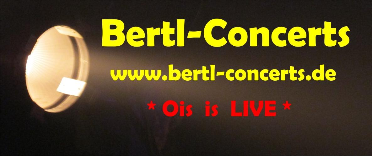 """Bertl-Concerts Norbert Seitz """"Ois is Live"""""""